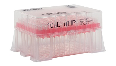 Racked Pipette Tips