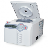 Model D1524R High Speed Refrigerated Micro-Centrifuge, with automatic chamber lock, customizable programs, adjustable acceleration/deceleration and other upgrades, with Free rotor US plug, 110-120V/50Hz/60Hz