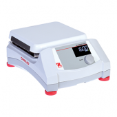 "OHAUS Guardian 5000 Magnetic Stirrer, 7""x7"" Ceramic Top Plate; Speed Range: 60 - 1600rpm; Digital Control; Backlit LCD Display; Dimensions: 4.8 x 12.2 x 8.8 in (12.2 x 30.9 x 22.3 cm); 120V."