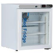 1.0 Cu. Ft, Glass Door Refrigerator (Freestanding)