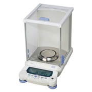 Shimadzu AUW120D Semi-Micro Dual Range Balance with UniBloc: Capacity: 120g/42g; Readability: 0.0001g (0.1mg)/0.00001g (0.01mg); Built-in, Motorized Calibration Mass for convenient Touch-key calibration; Also capable of Fully Automatic Self-Calibration at