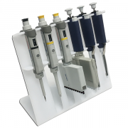 Benchmark SureStand™ Linear Pipette Stand. Holds 6 pipettes, up to four multi-channel pipettes.