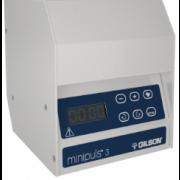 Gilson Minipuls 3 Speed Control Module, 0.01 to 48 rpm. Flow rates from 0.3µL/min to 30mL/min on standard pump heads and 1-220mL/min on high flow pump heads. Requires a pump head. 110/220V.