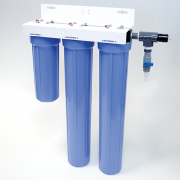 "Hydra High Purity DI System- 4-1/2"" Diameter (10"" Carbon, (2) 20"" Mixed Bed, & 200 K DI Light)"