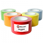 "1"" wide x 60yd Red Labeling Tape. 3 rolls/CS"