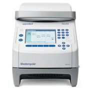 Eppendorf Mastercycler nexus GSX1 thermal cycler with silver thermoblock; accommodates 1 x 96-well PCR plates or 96 x 0.2 mL PCR tubes; intuitive programming; fast silver block; flexlid®; temperature range of block: 4-99°C; gradient range: 1-20°C; gradien
