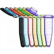 Benchmark 1.5mL SureSeal microtube, Sterile, RNase, DNase & Pyrogen Free, 500/Gusseted bag, includes 10 stop-pops.