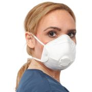 N95 Particulate Respirator with Valve, Cup-Shaped 270/Case
