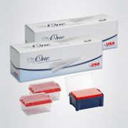 10/20 ul XL TipOne Filter Tip Refill Starter Pack. Includes one box with ten racks of filter tips and one box of ten filter tip refill cassettes (total 1920 tips). Sterile.